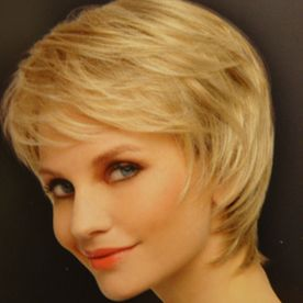 perruque coupe courte blonde