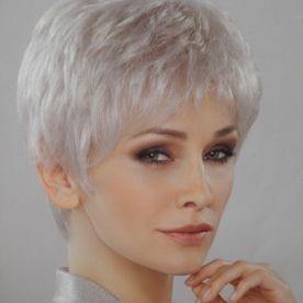 perruque coupe courte blond platine